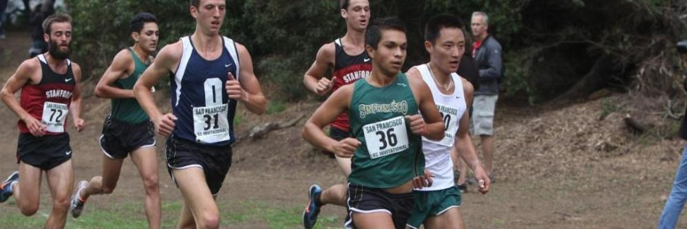 San Francisco Men S Cross Country Finishes Seventh At Stanford