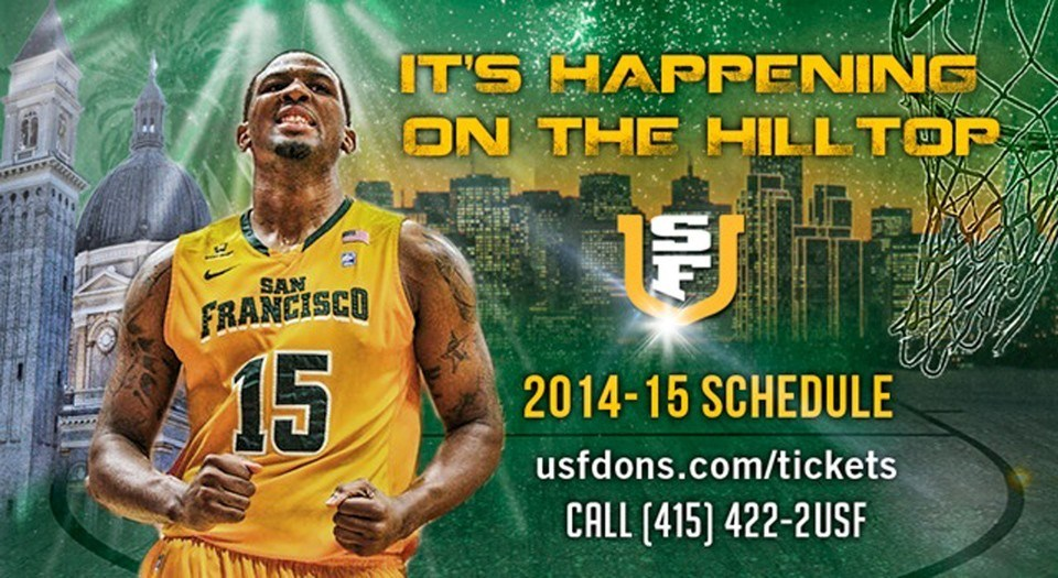 Usf Unveils Mens Basketball Schedule University Of San