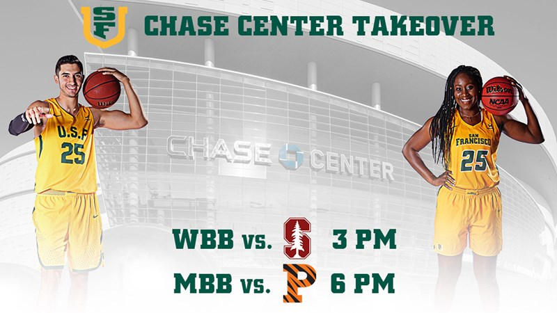 USF Chase Center Double-Header Tickets Now on Sale