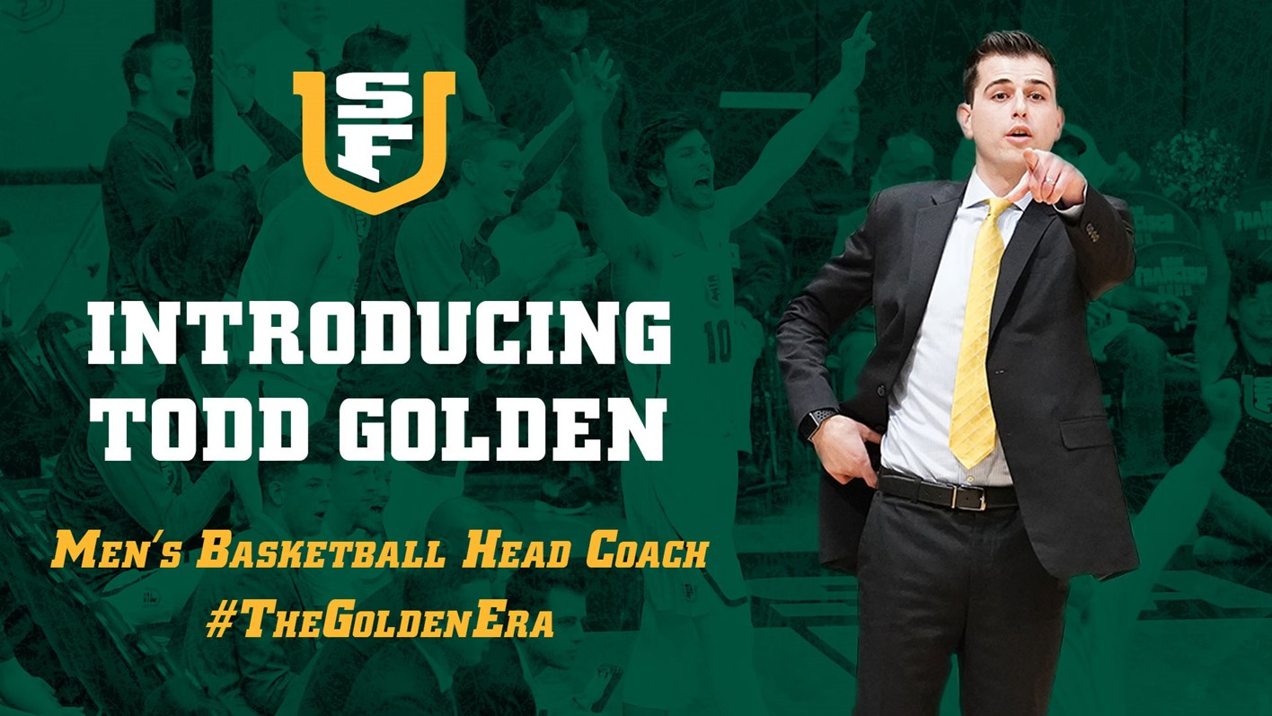 Todd Golden Named Head Men S Basketball Coach University
